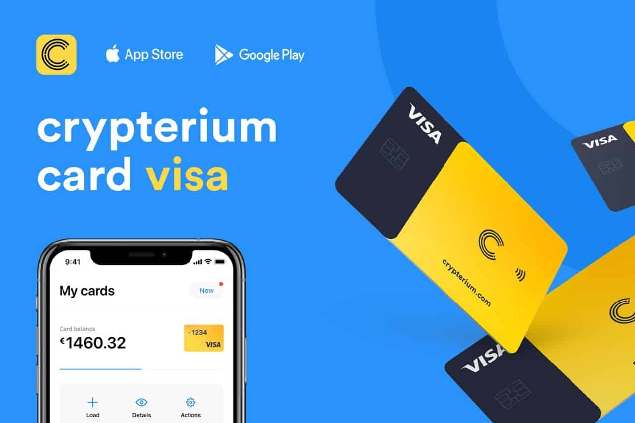 Fintech startup Crypterium launches its Card offering with VISA edition