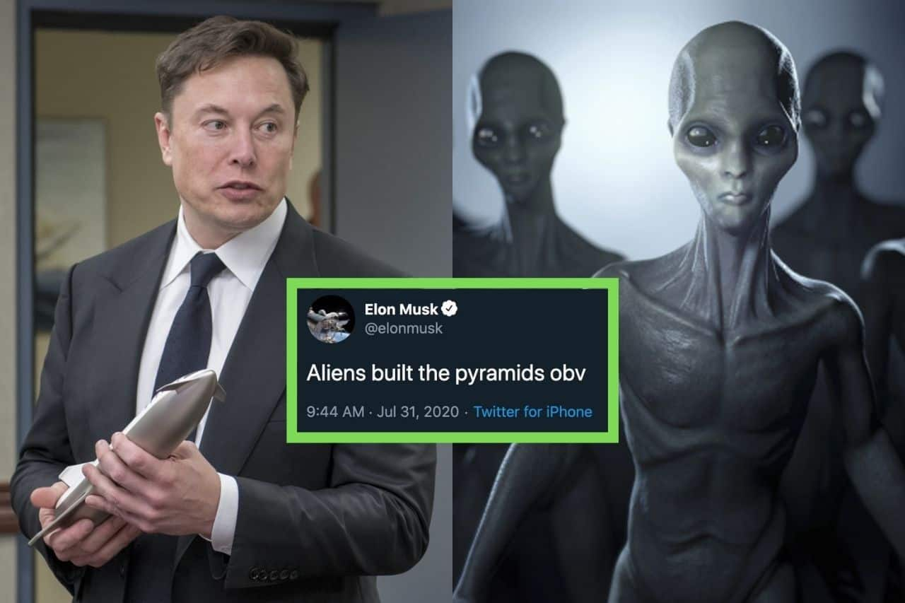 Elon Musk credits to Aliens for building Pyramids