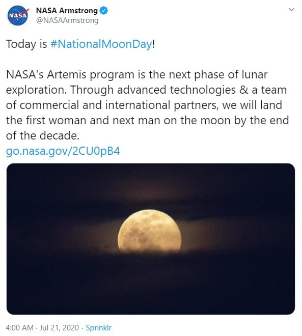 NASA announces plans to land the first woman on the Moon