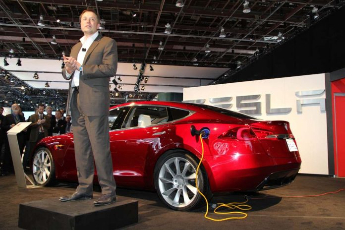 Tesla shares surge to record high, might soon join S&P 500 listing
