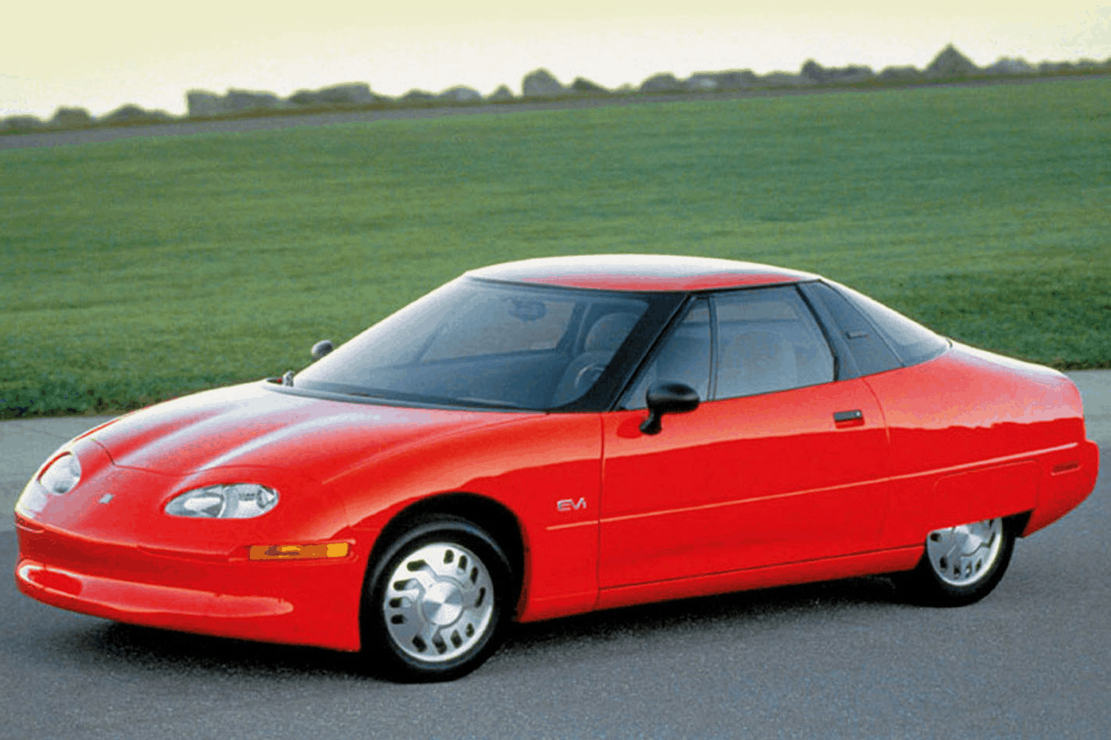 The first modern electric car - EV1 Electric