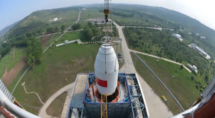 China launches 3 satelites - Ziyuan 3-03