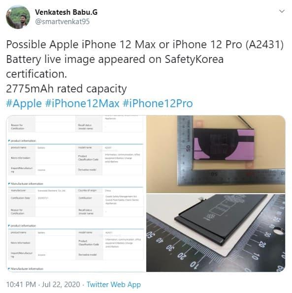 iPhone 12 leak reveals shocking battery life
