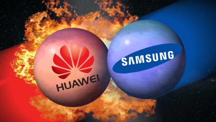 Huawei takes top spot in global smartphone vendors, Samsung falls to second