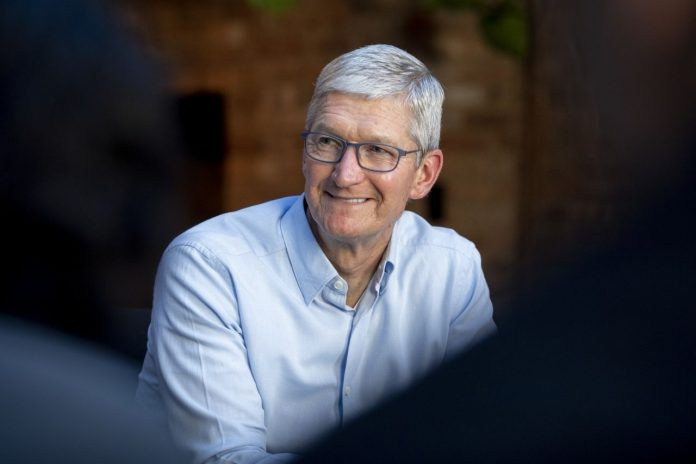 Apple CEO Tim Cook donates 10,715 AAPL shares