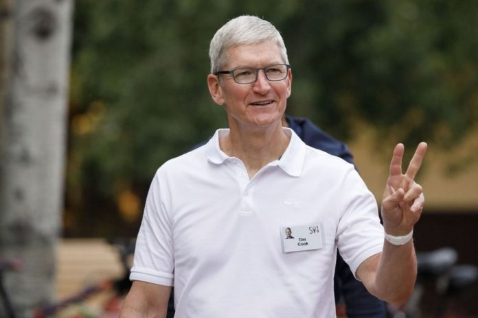 Apple CEO Tim Cook sells AAPL shares worth $131.7m