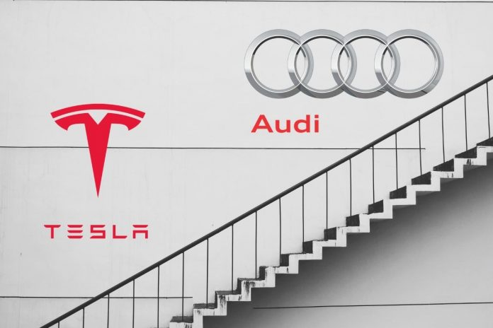 Tesla sees competition in South Korea with launch of Audi's all-electric SUV