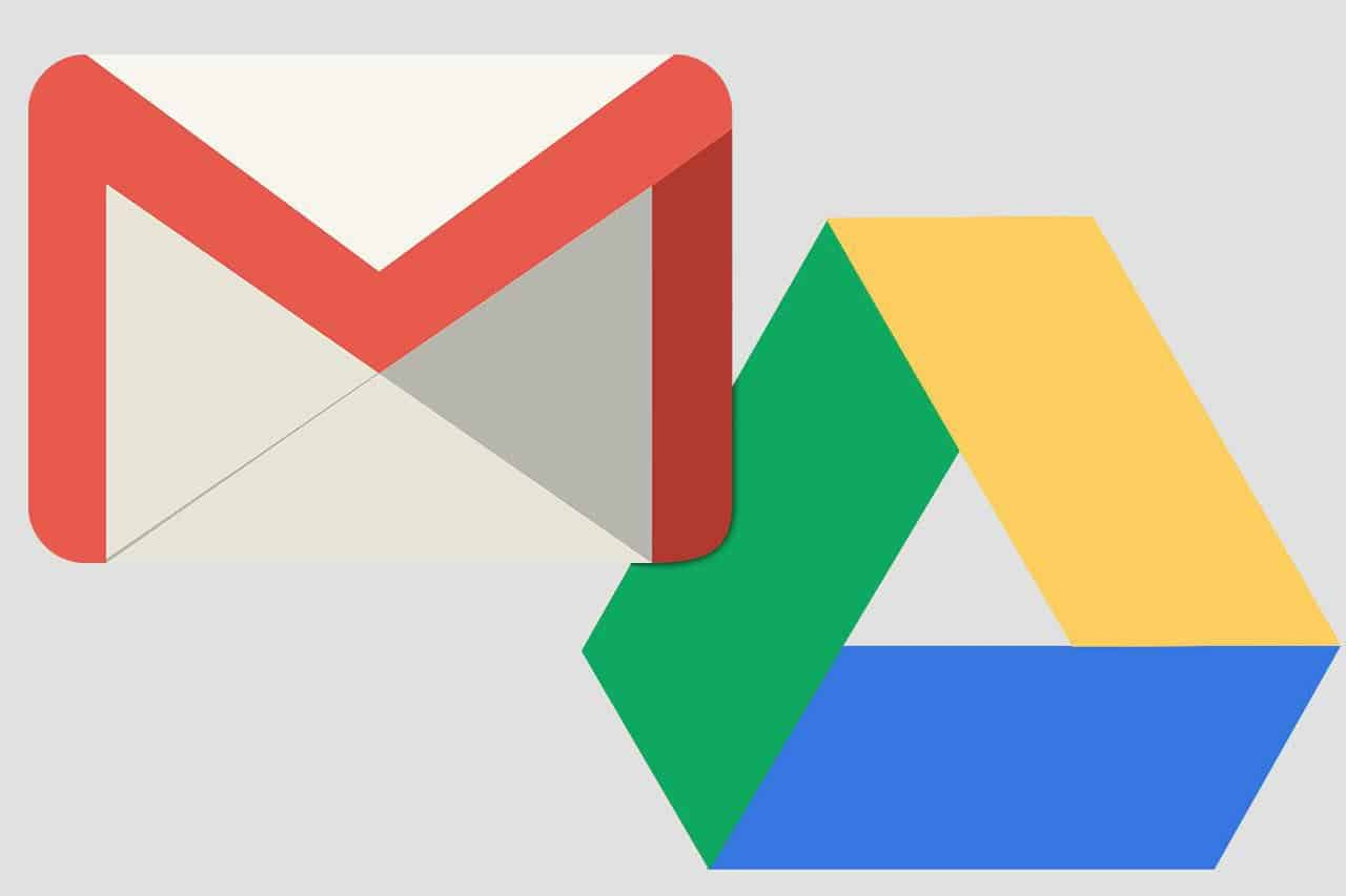 Google Drive and Gmail error issues seem to be resolving in certain areas