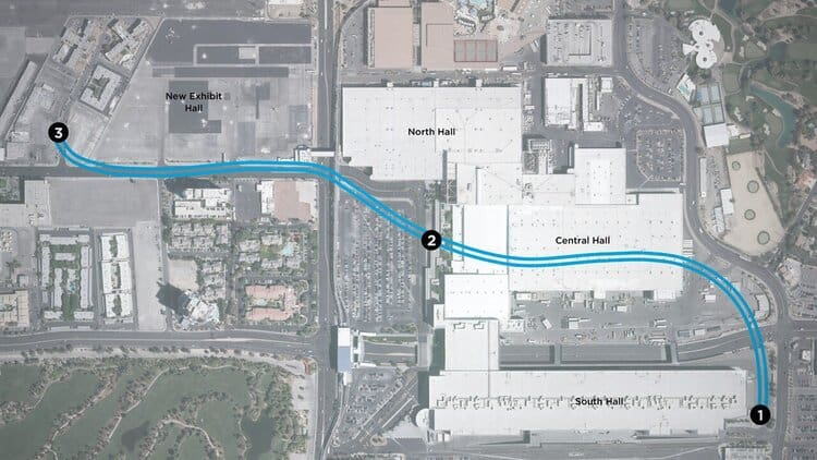 Las Vegas Convention Center Loop