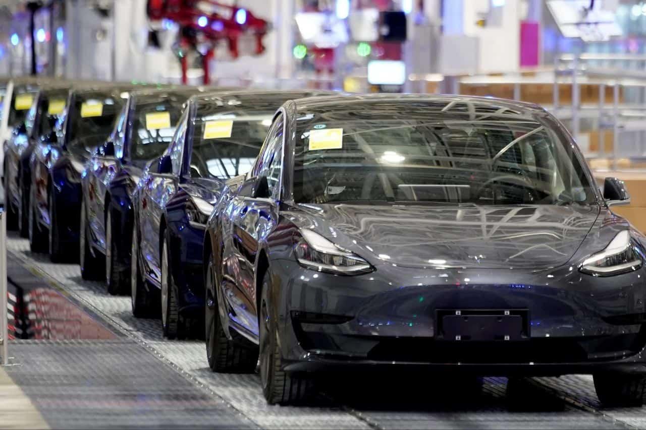 Tesla China growth Tesla tops July EV sales