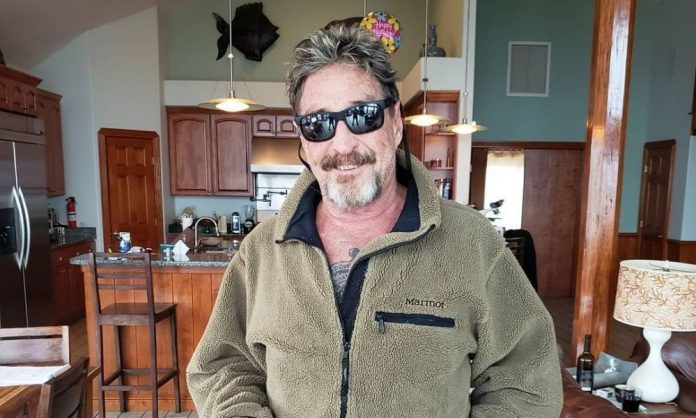 John McAfee, creator of popular Antivirus software, arrested for tax evasion