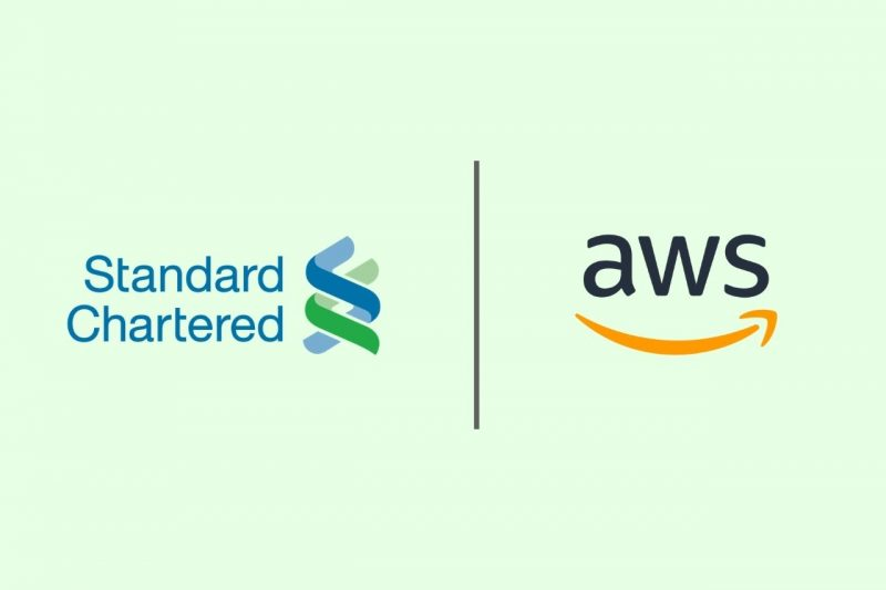 % Standard Chartered bank chooses Amazon's AWS for cloud computing transition