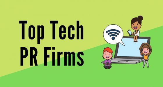 Top tech PR firms